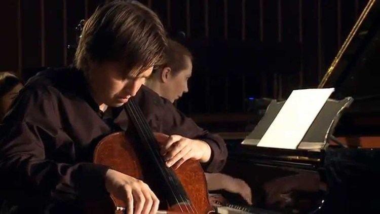 Alexey Stadler Alexey Stadler cello Karina Sposobina piano A Schnittke Cello