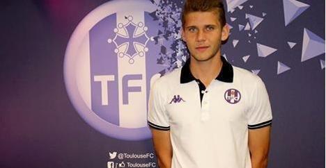 Alexis Blin Toulouse7com Alexis Blin signe son 1er contrat pro avec