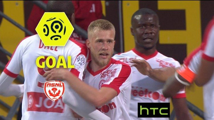 Alexis Busin Goal Alexis BUSIN 17 AS Nancy Lorraine AS SaintEtienne 31