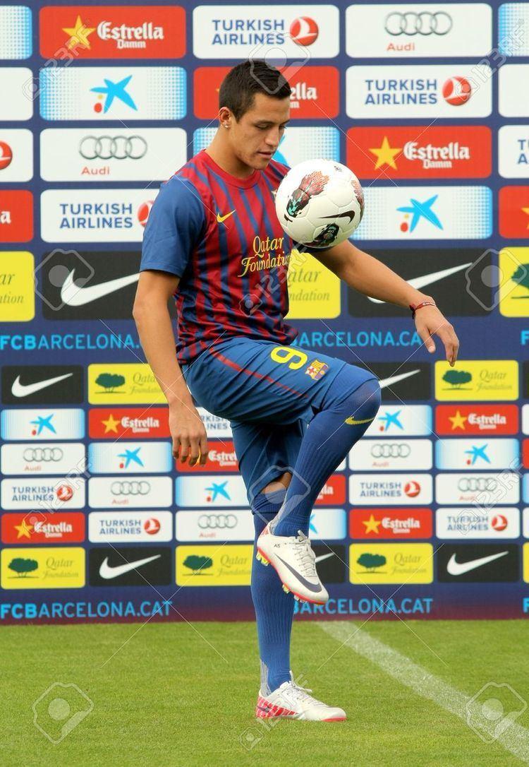 Alexis (footballer) Chilean Footballer Alexis Sanchez During His Presentation