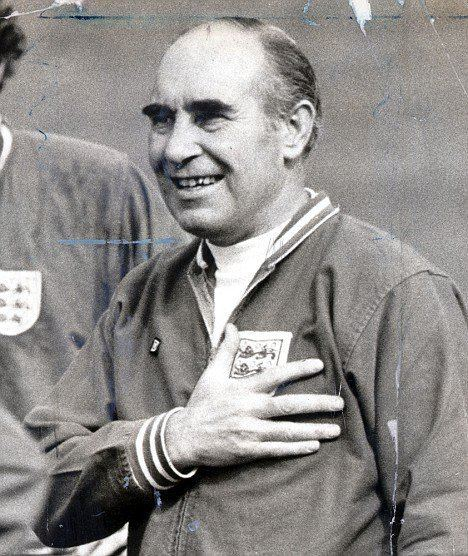 Alf Ramsey CapelloThe Strict Headmaster on the Touchline
