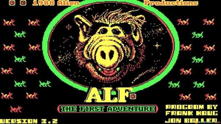 ALF (video game) Alf gameplay PC Game 1987 YouTube