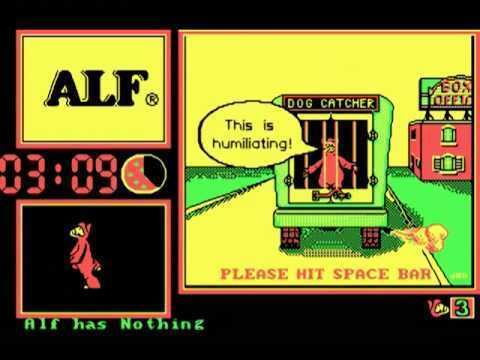 ALF (video game) Alf The Angry Video Game Nerd Jaakko Reupload YouTube