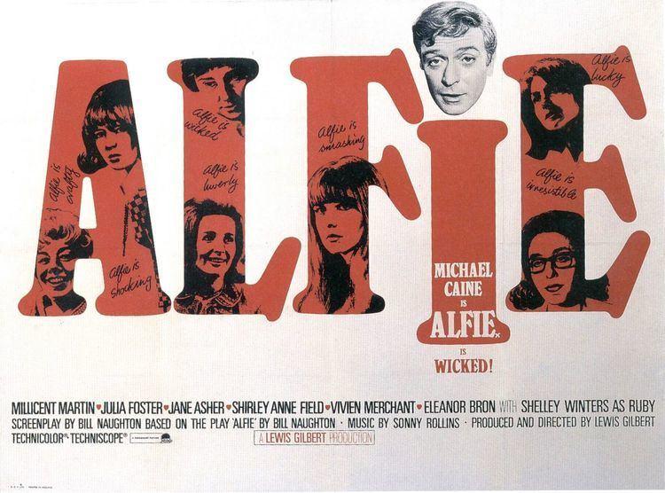 Alfie (1966 film) Alfie Movie Poster 1 of 2 IMP Awards