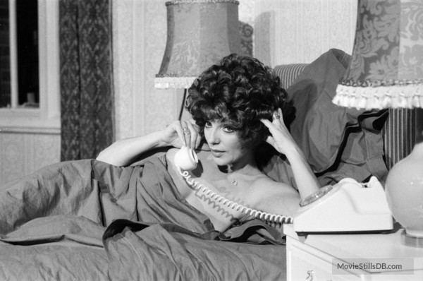 Alfie Darling Darling Behind the scenes photo of Joan Collins