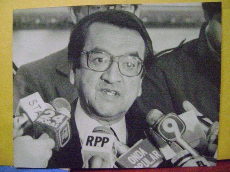 Alfonso Barrantes Lingan Ex Alcalde De Lima Alfonso Barrantes Lingan Foto