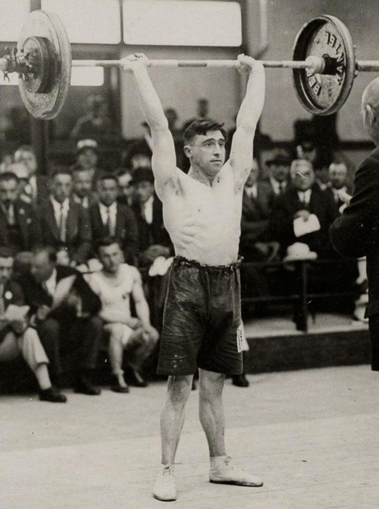 Alfred Baxter (weightlifter)