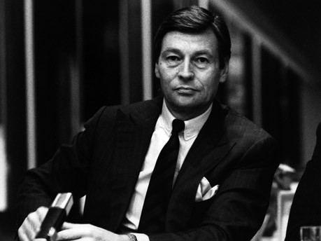 Alfred Herrhausen Alfred Herrhausen Der Politiker unter den Geldzhlern