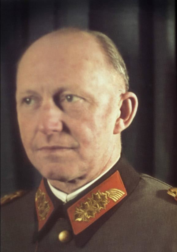 Alfred Jodl Third Reich Color Pictures Generaloberst Alfred Jodl