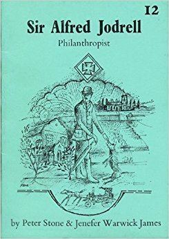 Alfred Jodrell Sir Alfred Jodrell Philanthropist Larks Pocket Biographies