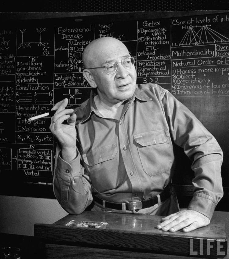 Alfred Korzybski Alfred Korzybski Philosophy for change
