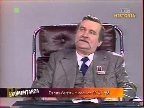 Alfred Miodowicz Debata WasaMiodowicz30111988 cz1 YouTube