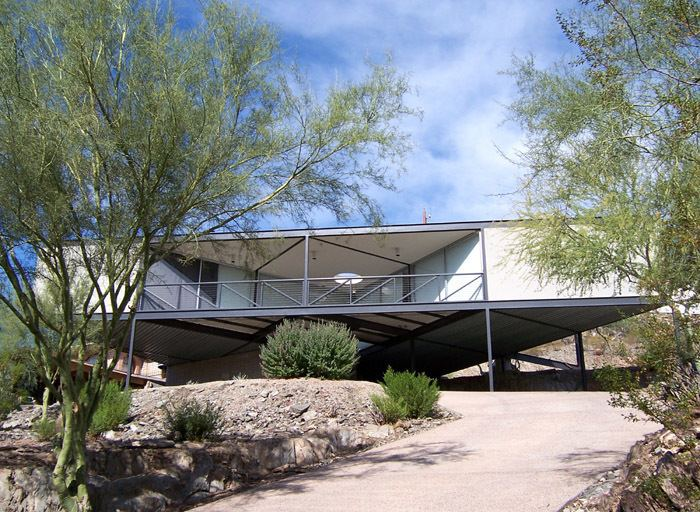 Alfred Newman (architect) Novak Residence by Alfred Newman Beadle Phoenix AZ Mid Century
