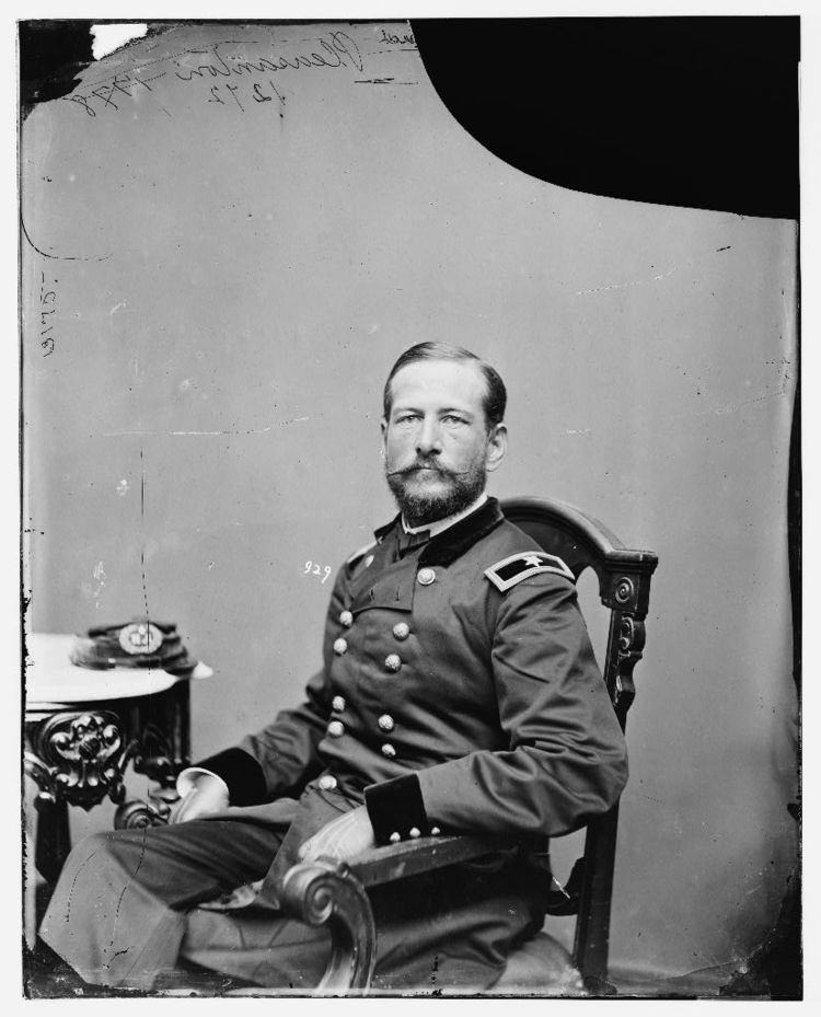 Alfred Pleasonton Cavalry Division Alfred Pleasonton Antietam Voices