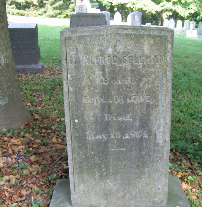 Alfred Sellman Col Alfred Sellman 1797 1854 Find A Grave Memorial