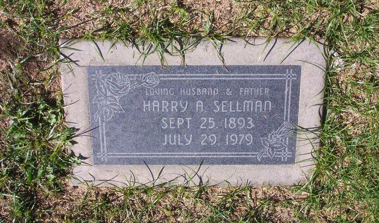 Alfred Sellman Harry Alfred Sellman Sr 1893 1979 Find A Grave Memorial