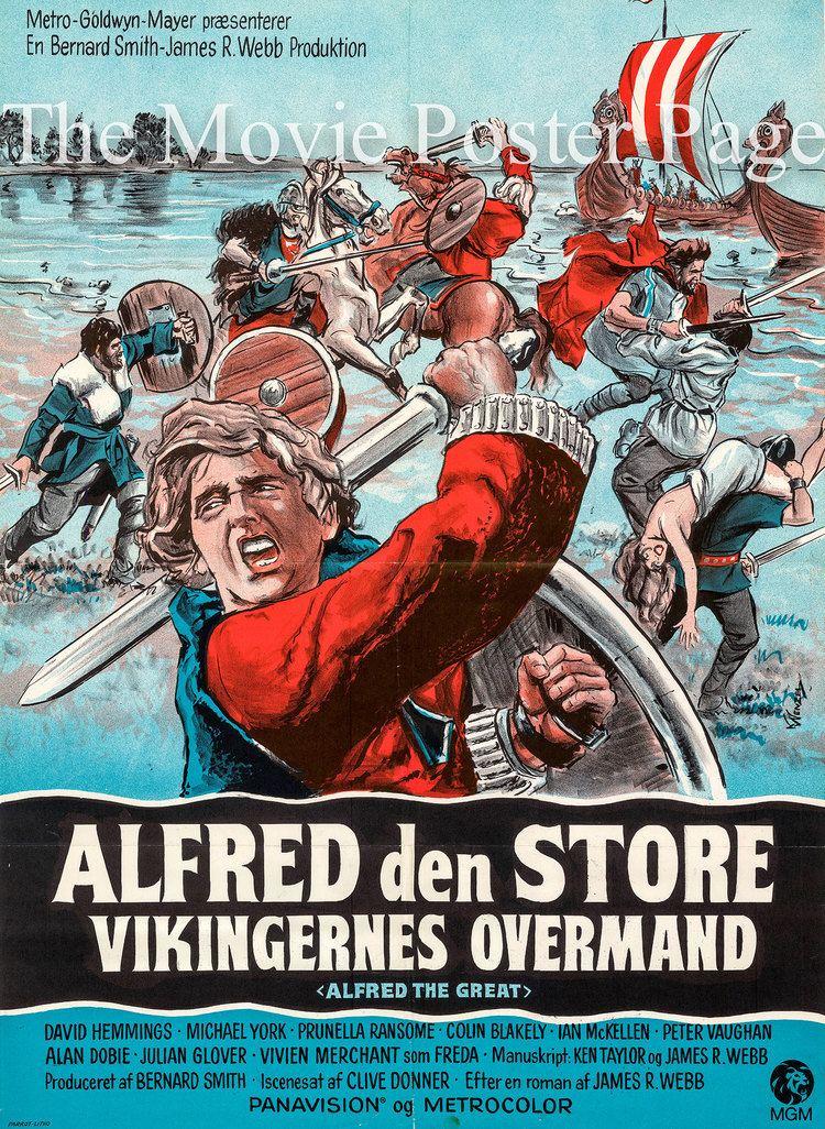 Alfred the Great (film) Alfred the Great 1969 David Hemmings Danish F NM 45