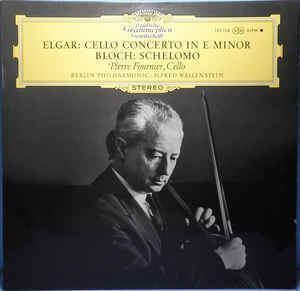 Alfred Wallenstein Elgar Ernest Bloch Alfred Wallenstein Pierre Fournier Berlin