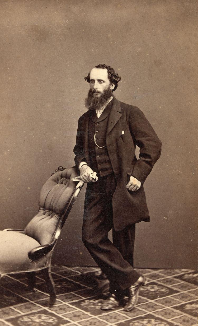 Alfred William Howitt Portait of Alfred William Howitt Ergo