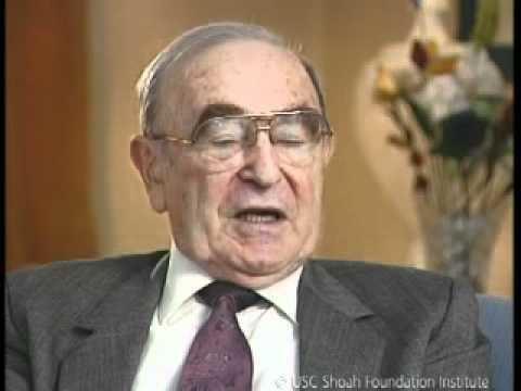 Alfred Wolf Jewish Survivor Alfred Wolf Testimony YouTube