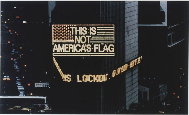 Alfredo Jaar Alfredo Jaar tells NYC again This is Not America Art