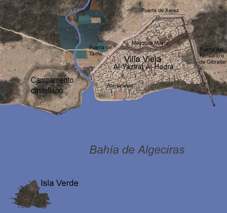 Algeciras in the past, History of Algeciras