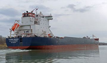 Algoma Equinox Canada39s greenest bulk freighter ready to cruise the Great Lakes