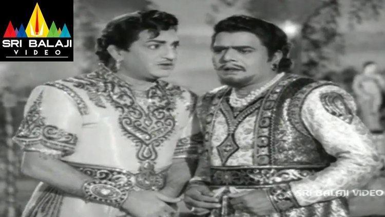 Ali Baba 40 Dongalu Alibaba 40 Dongalu Movie NTR and Naga Bhushanam Scene NTR Jaya
