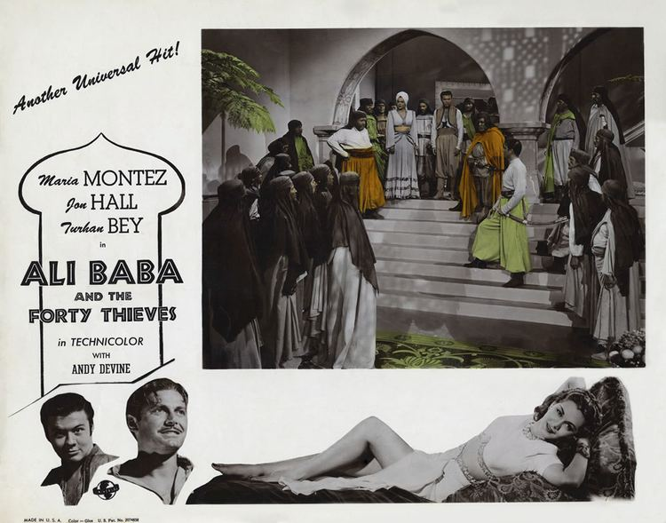 Ali Baba and the Forty Thieves (1944 film) Ali Baba and the Forty Thieves 1944 film Alchetron the free