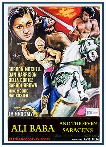 Ali Baba and the Seven Saracens Complete Classic Movie Ali Baba and the Seven Saracens 1964