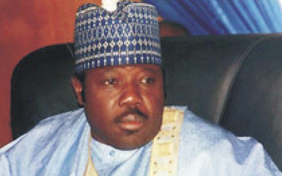 Ali Modu Sheriff Ex Borno Governor Modu Sheriff hands himself in to EFCC