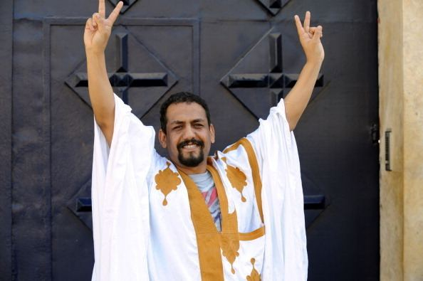 Ali Salem Tamek El defensor de derechos humanos Ali Salem Tamek fue