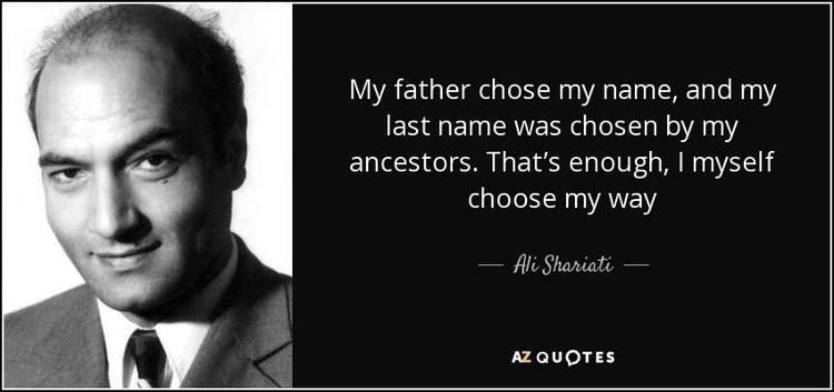 Ali Shariati TOP 5 QUOTES BY ALI SHARIATI AZ Quotes