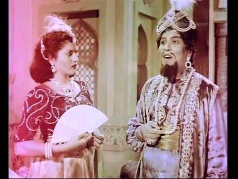 Alibabavum 40 Thirudargalum (1956 film) Alibabavum 40 Thirudargalum Full Movie Part 1 YouTube