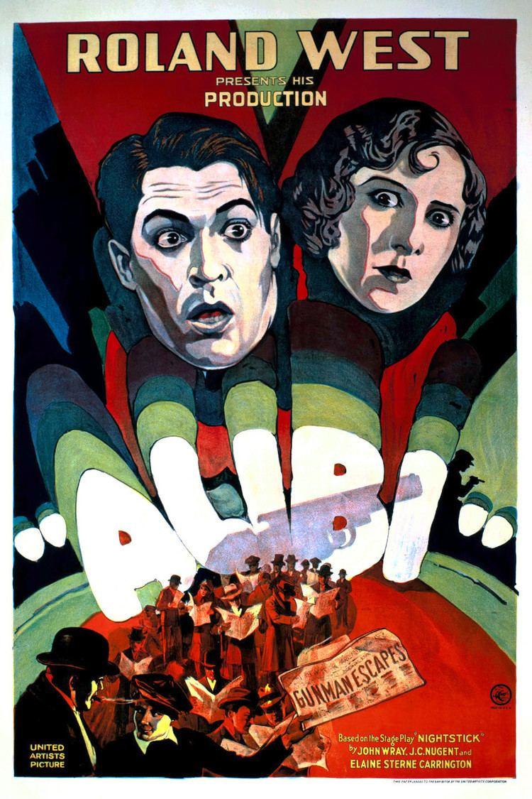 Alibi (1929 film) wwwgstaticcomtvthumbmovieposters160710p1607