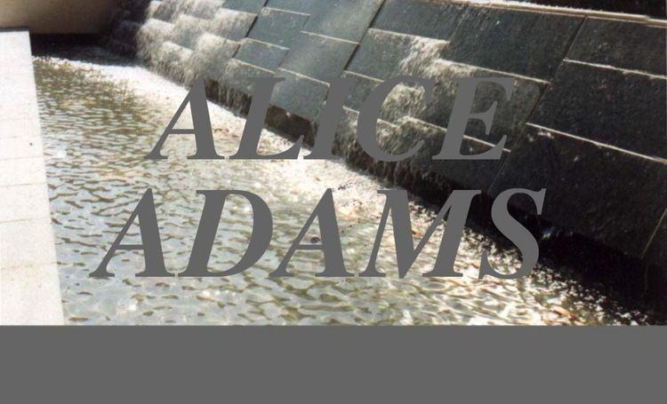 Alice Adams (artist) ALICE ADAMS HOME