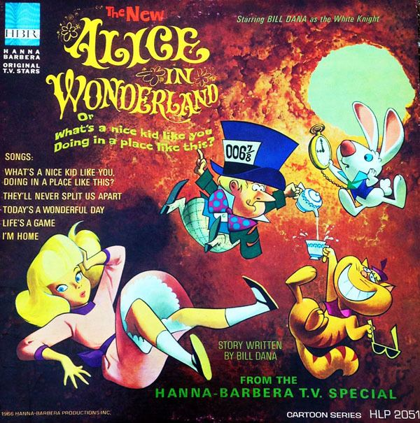 Alice in Wonderland or What's a Nice Kid Like You Doing in a Place Like This? The Day Alice Fell Through Her TV The 1966 HB Special Cartoon