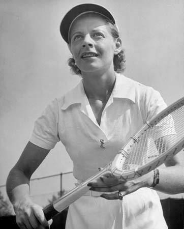 Alice Marble Alice Marble American athlete Britannicacom