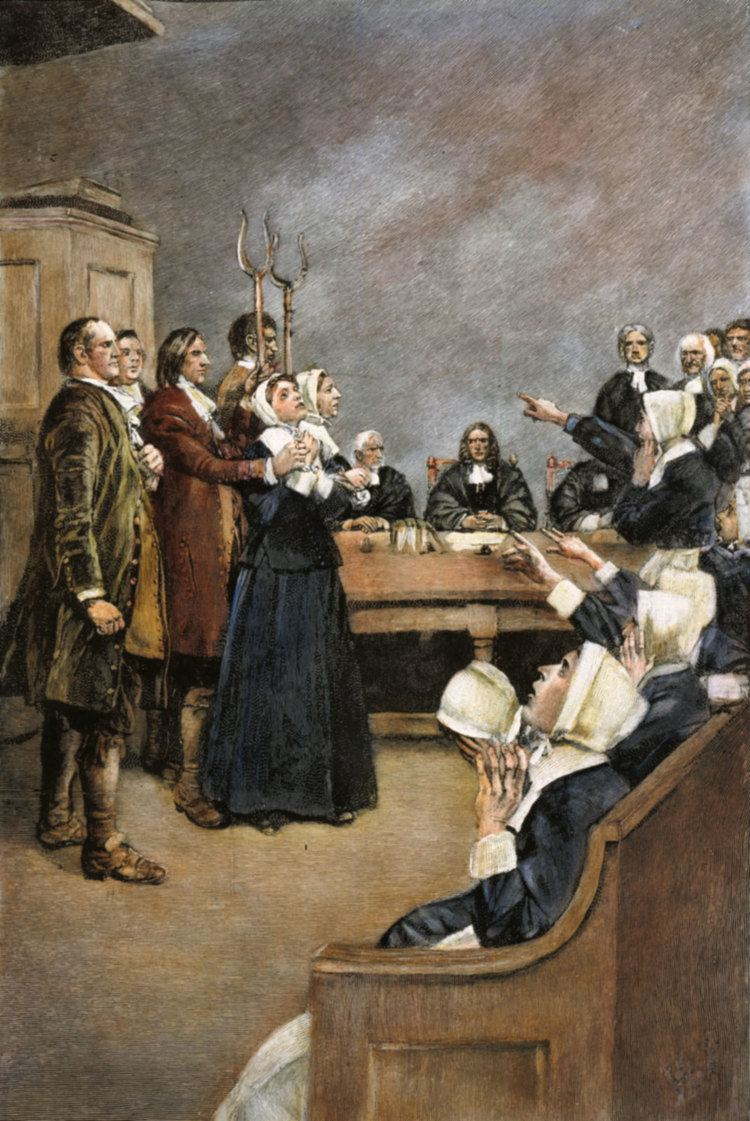 Alice Parker (Salem witch trials) Group 8 Alice Parker Eng 11 American Lit