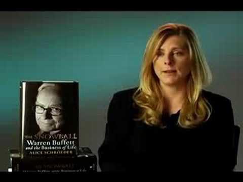 Alice Schroeder Alice Schroeder Discusses Warren Buffett and The Snowball