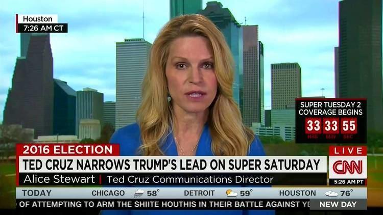 Alice Stewart Alice Stewart on CNN Its Time to Unite Behind Ted Cruz March 7