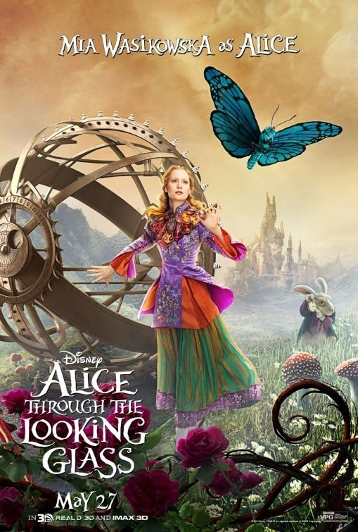 Alice Through the Looking Glass (2016 film) Alice Through the Looking Glass 2016 Through the looking glass