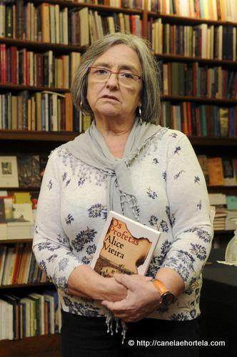 Alice Vieira Alice Vieira lana Os Profetas o seu primeiro romance no juvenil