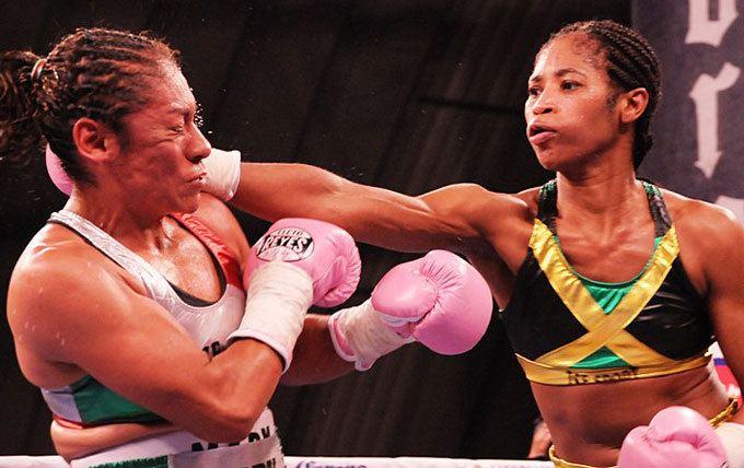 Alicia Ashley Alicia Slick Ashley Defending WBC Super Bantamweight