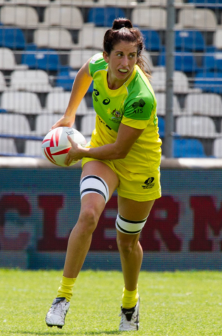 Alicia Quirk Personality quirk Aussie Sevens player Alicia Quirk loves both a