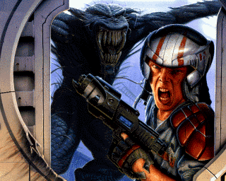 Alien Breed 3D Alien Breed 3D Amiga Game Games Download ADF Music Review