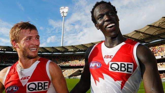 Aliir Aliir Aliir Aliir World reacts to Sydney Swans debut Herald Sun