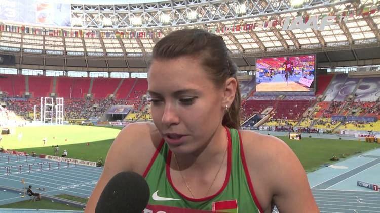 Alina Talay Moscow 2013 Alina TALAY BLR 100m Hurdles Women Heat 3 YouTube