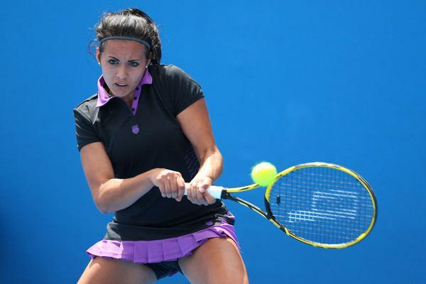 Aliona Bolsova Zadoinov Aliona Bolsova Zadoinov Photos Australian Open 2015