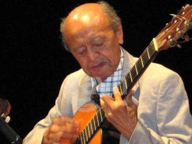 Alirio Díaz La guitarra calla triste por la muerte del maestro Alirio Daz